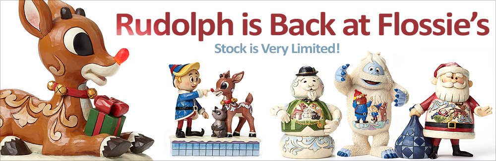Rudolph the Red Nosed Reindeer Figurines