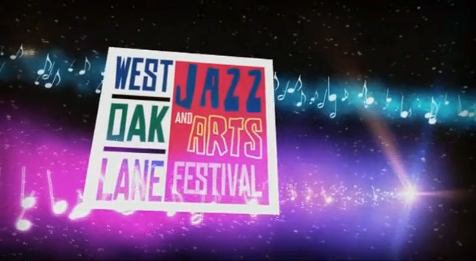 West Oak Lane Jazz Festival. Motion Graphics by John Stanowski.
